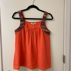 Ya Los Angeles sleeveless blouse with Aztec S L